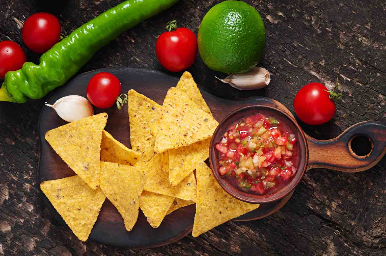 ¿Salsa bandera? ¿Salsa mexicana? ¿Tricolor? ¿Salsa patria?