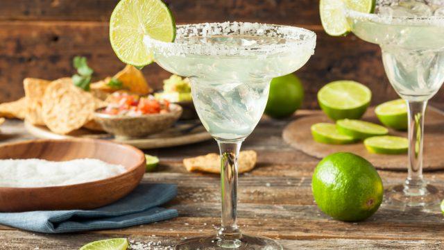 cóctel mexicano margarita